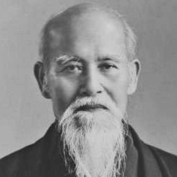 Photo of Morihei Ueshiba