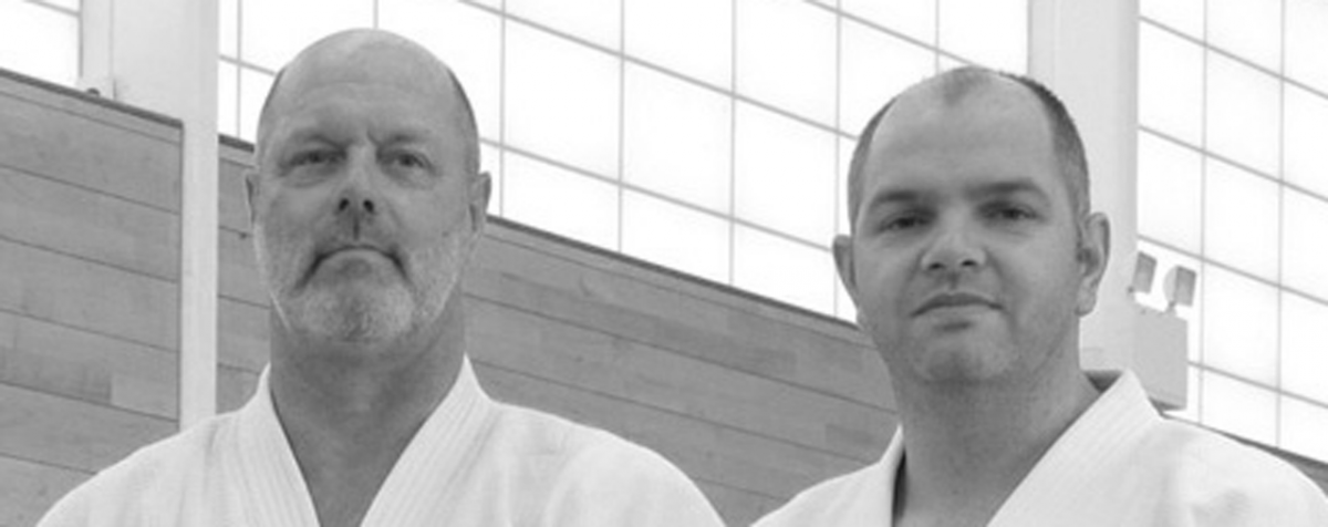 Mustard Shihan and Saunders Sensei, Shobukai instructors